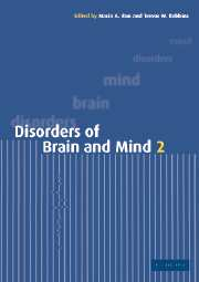 Disorders of Brain and Mind