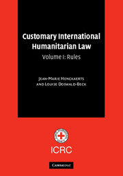 Customary International Humanitarian Law