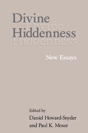 Divine Hiddenness