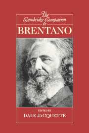The Cambridge Companion to Brentano