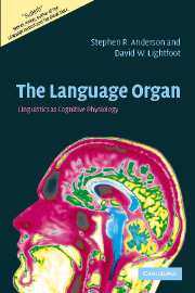 The Language Organ