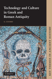 Technology and Culture in Greek and Roman Antiquity