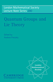 Quantum Groups and Lie Theory