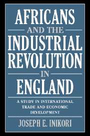 Africans and the Industrial Revolution in England