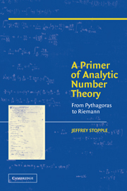 A Primer of Analytic Number Theory
