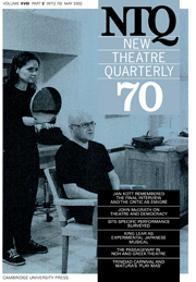 New Theatre Quarterly 70