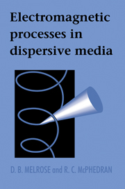 Electromagnetic Processes in Dispersive Media