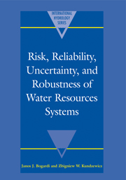 Risk, Reliability, Uncertainty, and Robustness of Water Resource Systems