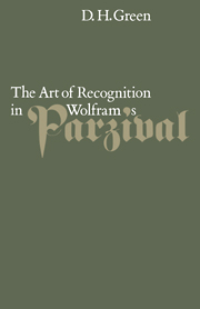 The Art of Recognition in Wolfram's 'Parzival'