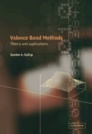 Valence Bond Methods