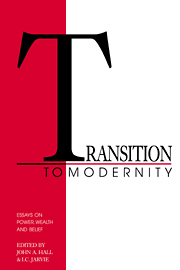 Transition to Modernity