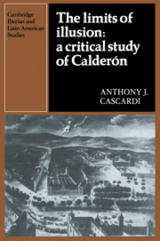 The Limits of Illusion: A Critical Study of Calderón