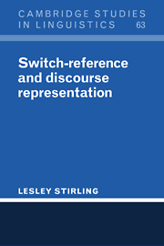 Switch-Reference and Discourse Representation
