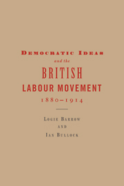 Democratic Ideas and the British Labour Movement, 1880–1914