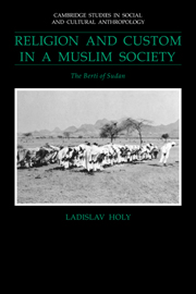 Religion and Custom in a Muslim Society