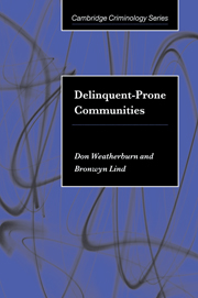 Delinquent-Prone Communities