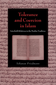 Tolerance and Coercion in Islam