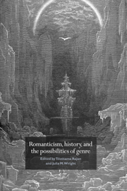 Romanticism and the Gothic: Genre, Reception, and Canon Formation (Cambridge Studies in Romanticism)