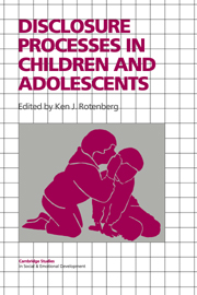 Disclosure Processes in Children and Adolescents