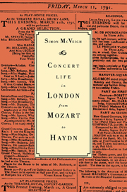 Concert Life in London from Mozart to Haydn