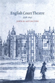 English Court Theatre, 1558–1642
