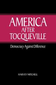America after Tocqueville