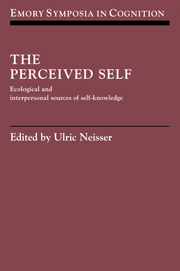 The Perceived Self