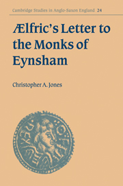 Ælfric's Letter to the Monks of Eynsham