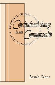 Constitutional Change in the Commonwealth