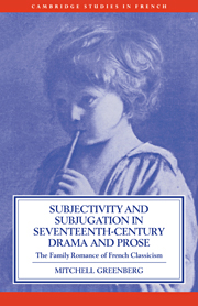Subjectivity and Subjugation in Seventeenth-Century Drama and Prose