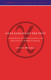 Genealogies of the Text