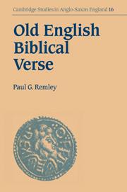 Old English Biblical Verse