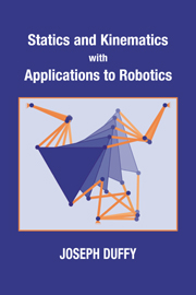 Statics and Kinematics with Applications to Robotics