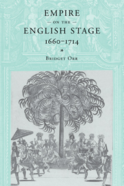 Empire on the English Stage 1660–1714