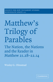 Matthew's Trilogy of Parables