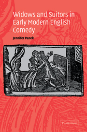 Widows and Suitors in Early Modern English Comedy