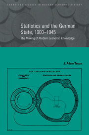 Statistics and the German State, 1900–1945