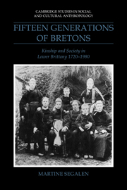 Fifteen Generations of Bretons