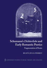 Schumann's Dichterliebe and Early Romantic Poetics
