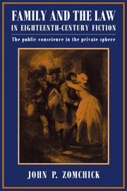 Family and the Law in Eighteenth-Century Fiction