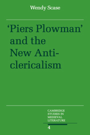 Piers Plowman and the New Anticlericalism