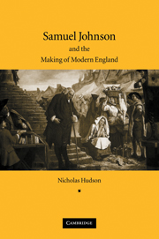 Samuel Johnson and the Making of Modern England