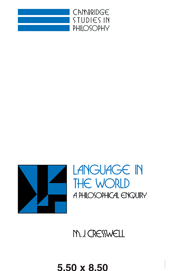 Language in the World