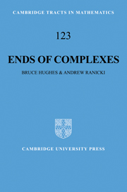 Ends of Complexes