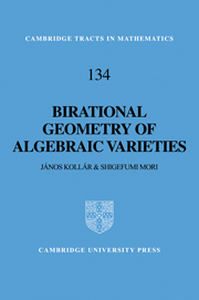 Birational Geometry of Algebraic Varieties