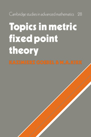 Topics in Metric Fixed Point Theory