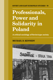 Professionals, Power and Solidarity in Poland