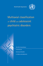 Multiaxial Classification of Child and Adolescent Psychiatric Disorders