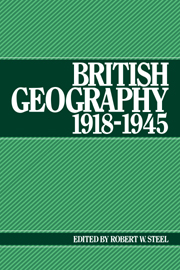 British Geography 1918–1945