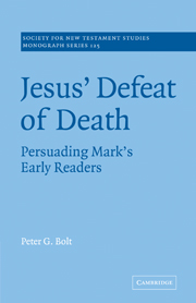 Jesus' Defeat of Death